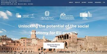 ROME STRATEGY DOCUMENT RELEASED FROM CONFERENCE: UNLOCKING THE POTENTIAL OF SOCIAL ECONOMY FOR EU GROWTH, 17-18 NOVEMBER 2014